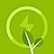 logo hebergement  ecologique